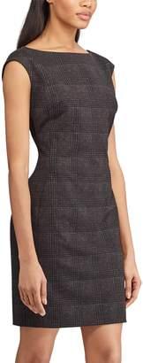 Chaps Women's Print Sheath Dress
