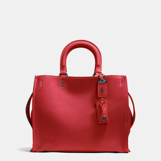 COACH Coach 1941 Rogue Bag In Glovetanned Pebble Leather $795 thestylecure.com