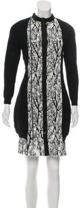 Yigal Azrouel Contrasted Mini Dress