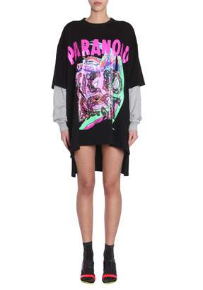 Jeremy Scott Oversize Fit Dress