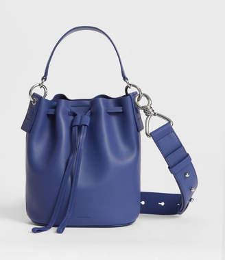 AllSaints Captain Leather Small Bucket Bag