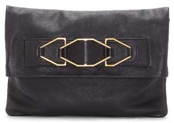Vince Camuto Luk Leather Foldover Clutch