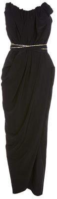Vivienne Westwood Susanna Sol Dress Black