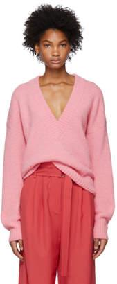 Tibi Pink Airy Sweater