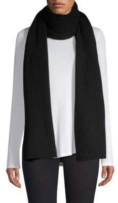 Saks Fifth Avenue Cashmere Ribbed Scarf