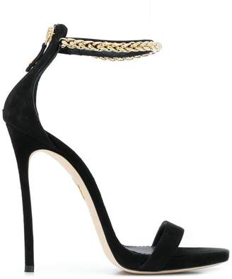 DSQUARED2 chain trimmed sandals