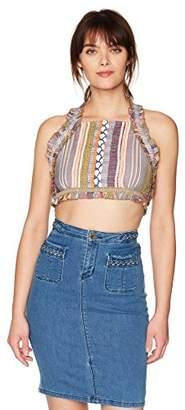 Red Carter Women's Arella Crop Top
