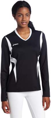 Asics Mintonette Womens Long Sleeve Volleyball Top 2XL