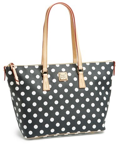 Dooney & Bourke Polka Dot Shopper