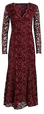 Ralph Lauren Women's Estella Midi Cocktail Dress