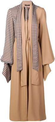 DAY Birger et Mikkelsen Rokh asymmetric panel dress