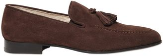 Suede Tasseled Loafers $185 thestylecure.com