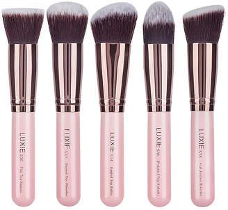 Luxie Rose Gold Kabuki Brush Set