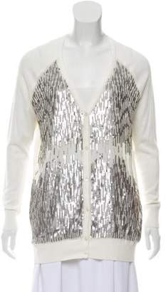 Haute Hippie Sequin Knit Cardigan w/ Tags