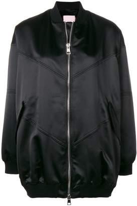 Giamba oversized bomber jacket
