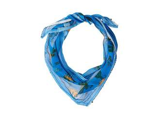 Michael Stars Prickly Party Triangle Scarf Scarves