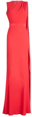 Alexander McQueen Floor Length Gown with Open Back