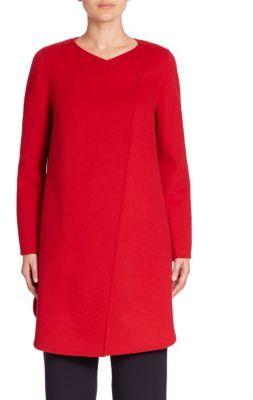 Armani Collezioni Double-Faced Wool Coat $1,795 thestylecure.com