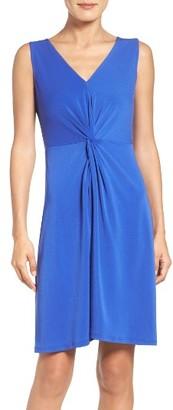 Women's Leota Twist Front Jersey Sheath Dress $118 thestylecure.com