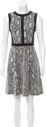 Rebecca Taylor Jacquard Mini Dress