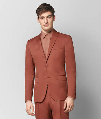 Bottega Veneta DARK HIBISCUS COTTON JACKET