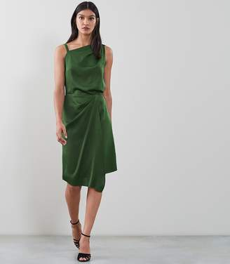 Reiss Ostia One Shoulder Cocktail Dress
