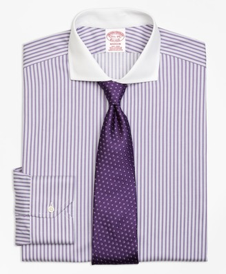 Brooks Brothers Madison Classic-Fit Dress Shirt, Non-Iron Bold Stripe