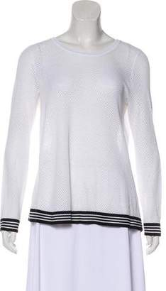 Rag & Bone Cutout Long Sleeve Sweatshirt