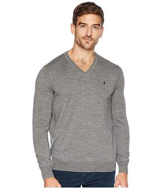 ffb04a570 Ralph Lauren Merino Wool V-neck Sweaters - ShopStyle