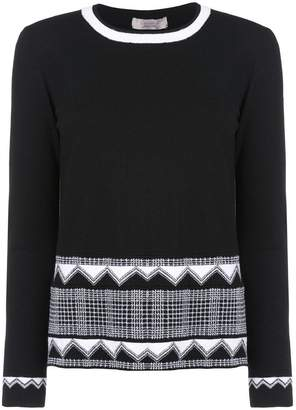 D-Exterior D.Exterior patterned sweater