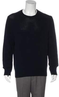Acne Studios Wool Crew Neck Sweater navy Wool Crew Neck Sweater