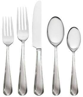 Waterford Wedgwood Five-Piece Madden Stainless Steel Flatware Set