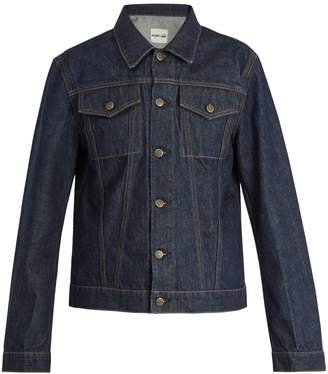 Helmut Lang Striped denim jacket