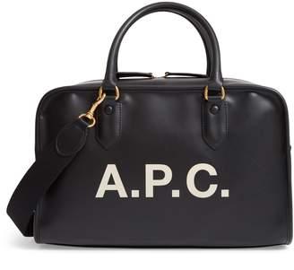 A.P.C. Sac Sylvie Faux Leather Satchel