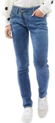 G Star G-STAR Womens Lynn Zip Mid Waist Skinny Jeans Medium Aged