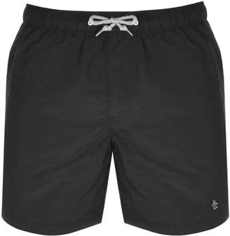 Original Penguin Quick Dry Daddy Swim Shorts Black