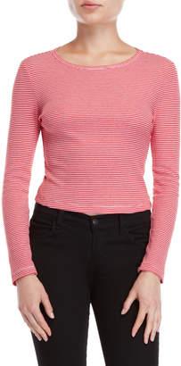 BB Dakota Stripe Long Sleeve Top