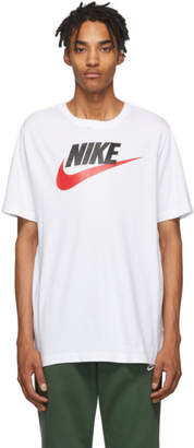 Nike White Icon Futura T-Shirt