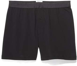 Sunspel Superfine Cotton One Button Boxer Shorts