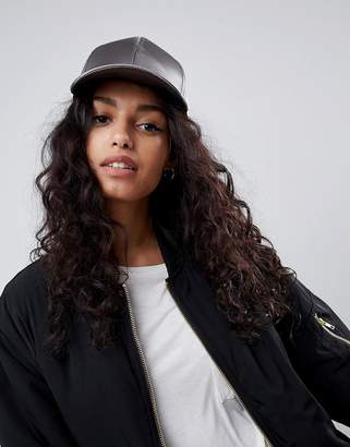 Asos Design Satin Baseball Cap