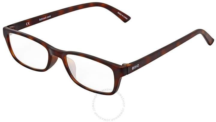 B+D Icon Reader Matt Tortoise Eyeglasses
