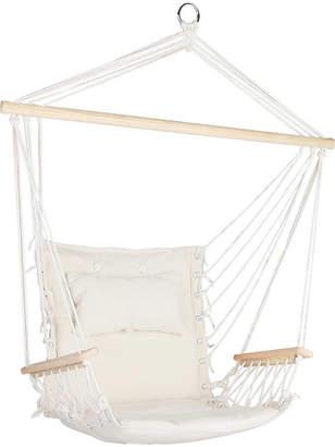 Dwell Outdoor Cream Hammock Swing Chair