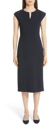 Fabiana Filippi Beaded Crepe Dress