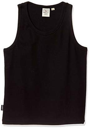 Avirex (アヴィレックス) - [アヴィレックス] Tシャツ KID-S DAILY RIB TANK TOP 6383503 キッズ 09 BLACK 日本 100 (日本サイズ100 相当)