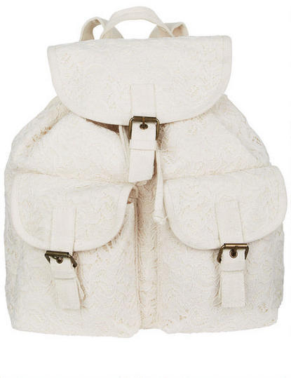 Delia's Lace Backpack