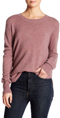 Inhabit Crew Neck Long Sleeve Cashmere Sweater $352 thestylecure.com