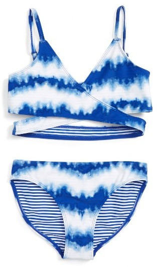 Girl's Tucker + Tate Two-Piece Swimsuit