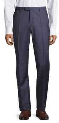 HUGO BOSS Leenon Pleated Wool Pants
