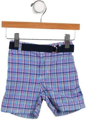 Polo Ralph Lauren Infant Boys' Belted Plaid Shorts