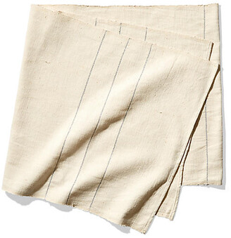 Bolã© Road Textiles Negus Table Runner - Silver/Ecru - BolA Road Textiles